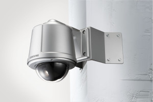 Samsung Pan Tilt Zoom Dome Outdoor Camera